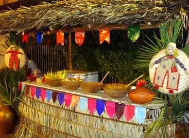 Nomes de Barracas e Nomes de Gincanas da Festa de São João