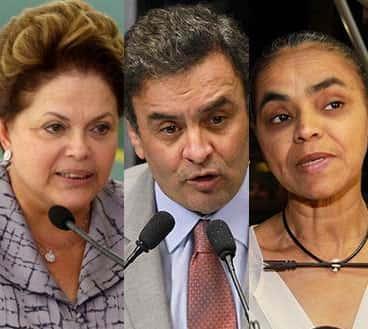 Principais promessas de Campanha de Marina, Dilma e Aécio