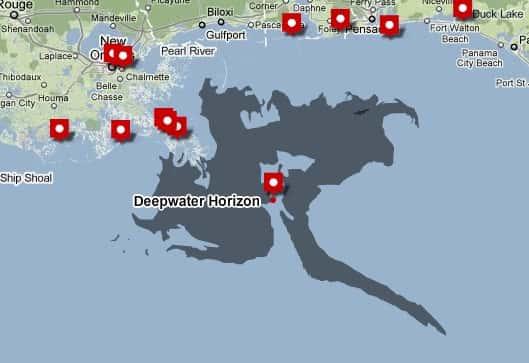 O Grande Vazamento de Petróleo no Golfo