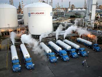 Usos Domestico - Gases Nitrogênio, oxigênio e argônio