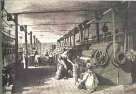 Trabalho escolar › história › capitalismo industrial