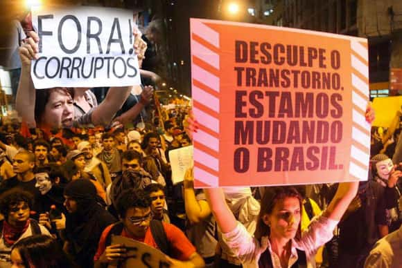 Protestos Brasileiros