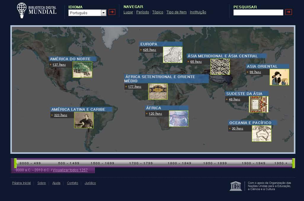 A Biblioteca Digital Mundial