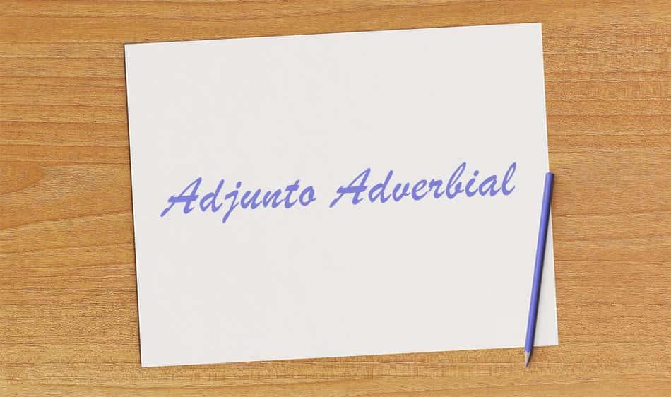Adjunto Adverbial