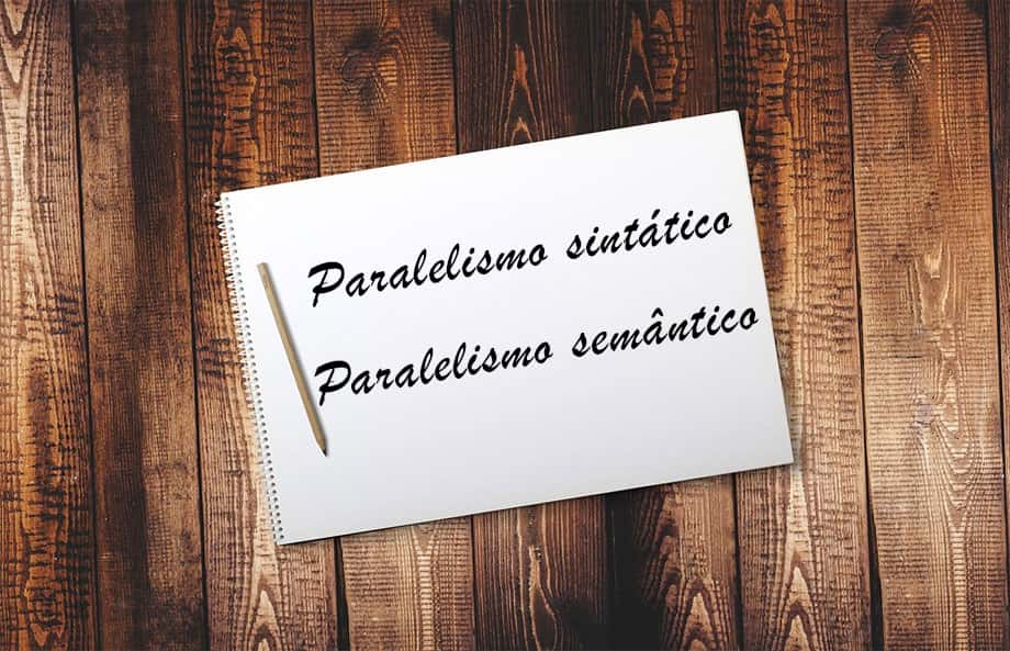 Diferenças entre o paralelismo sintático e o paralelismo semântico