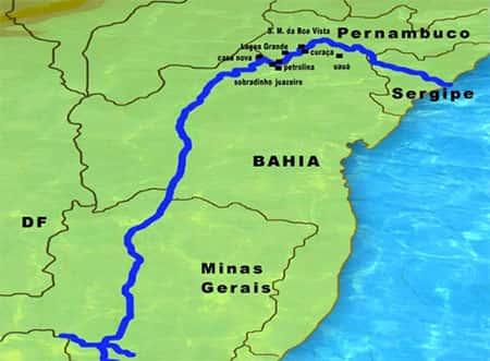 A Hidrografia Nordestina
