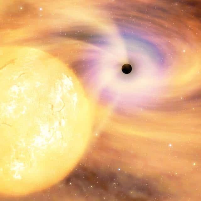 Raios X revelam buraco negro da Via Láctea