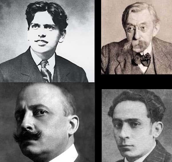 Autores do Futurismo