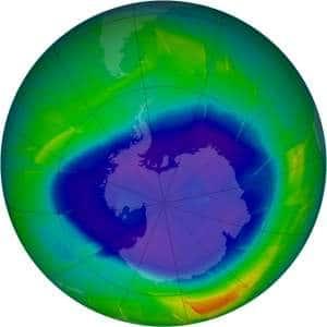 Recuperação da Camada de Ozônio da Terra