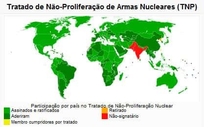 O que é o TNP - Tratado de Não Proliferação Nuclear?