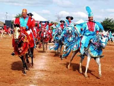 Costumes da região centro-oeste