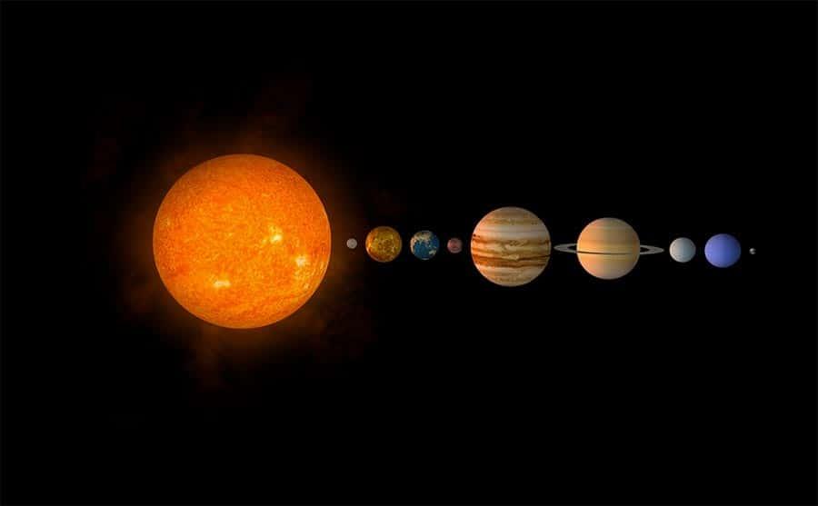 Sistema Solar Fatos Gerais Grupo Escolar