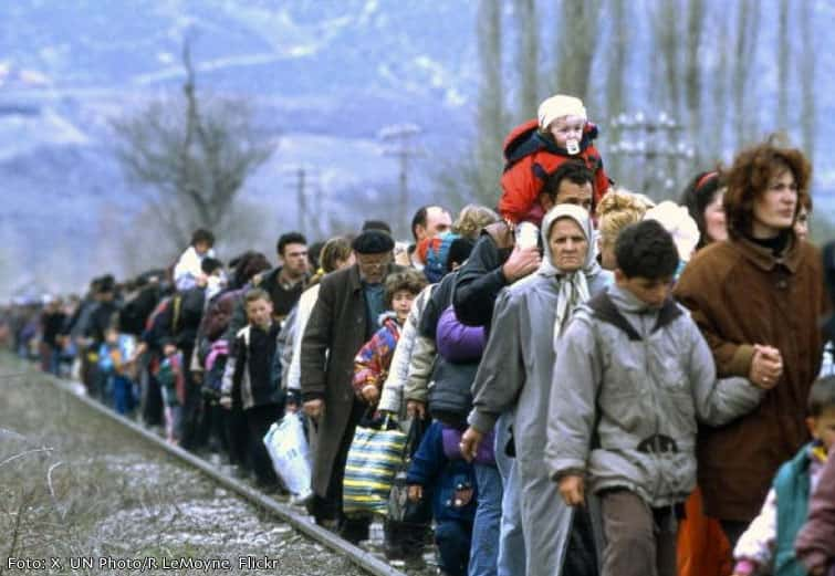 A crise migratória na Síria