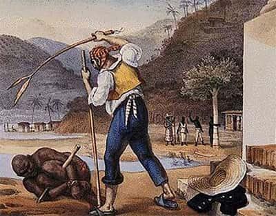 Castigos corporais sofridos pelos negros