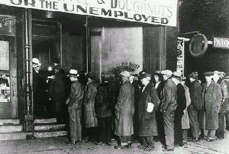 A Grande Depressão: crise econômica de 1929