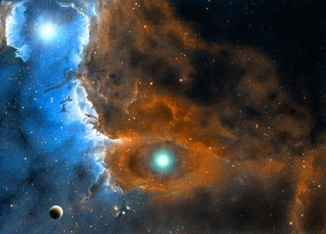 Quem está no centro do universo?