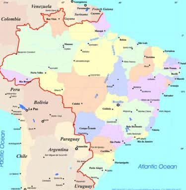 Fronteiras Brasileiras