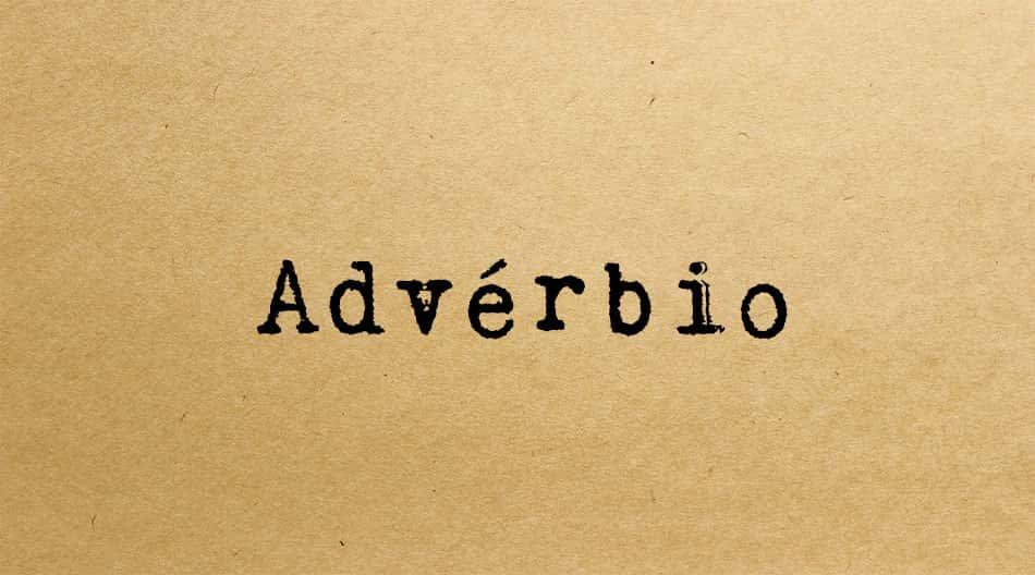 Advérbio