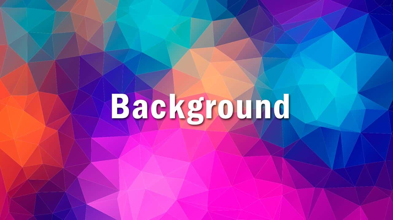 O que significa Background?