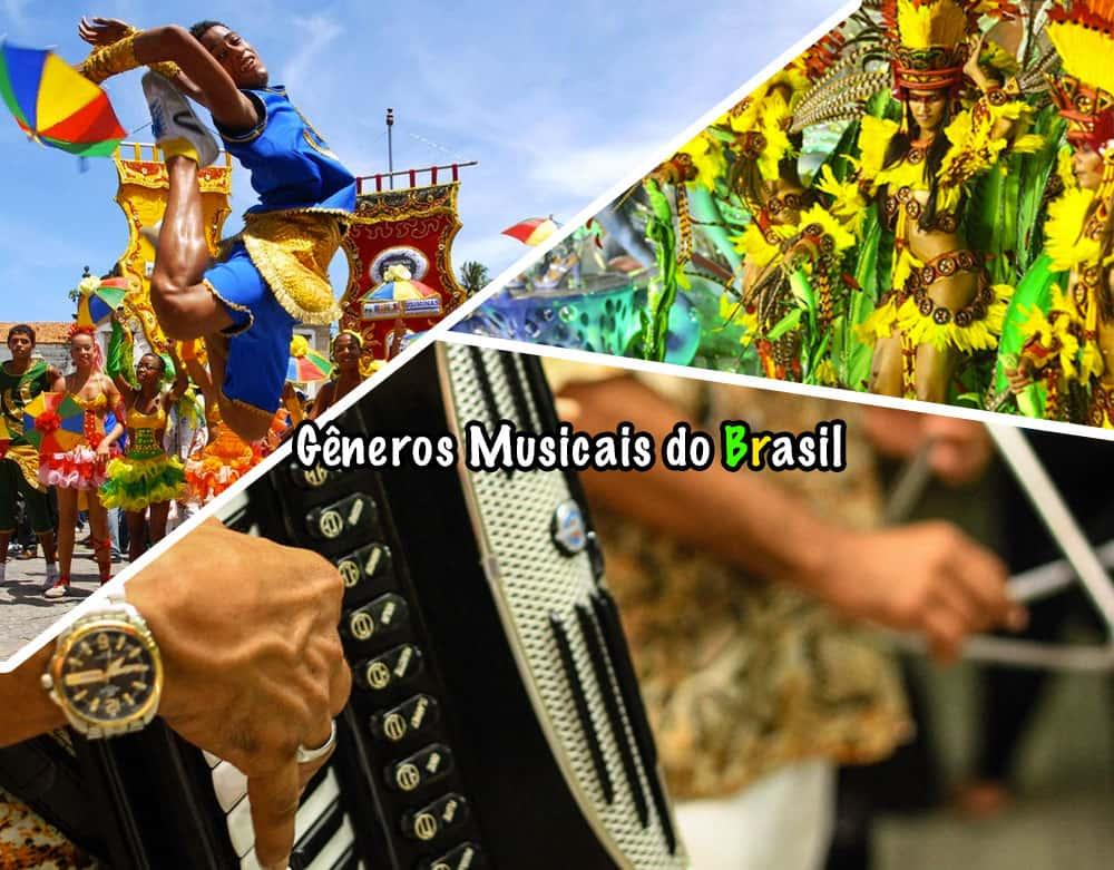 Conheça os principais gêneros musicais do Brasil