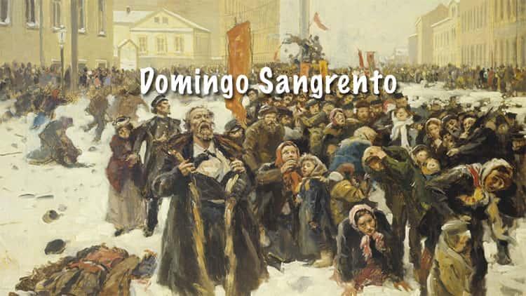 Domingo Sangrento em São Petersburgo na Rússia (1905)