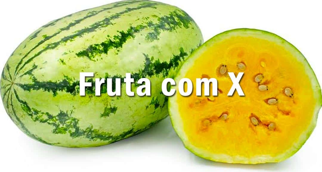 Fruta com X