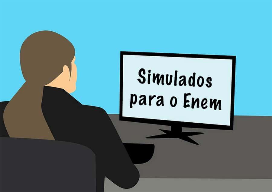 Onde encontrar simulados para o Enem?