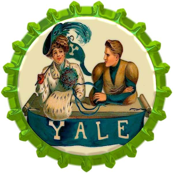 Broche decorativo Yale