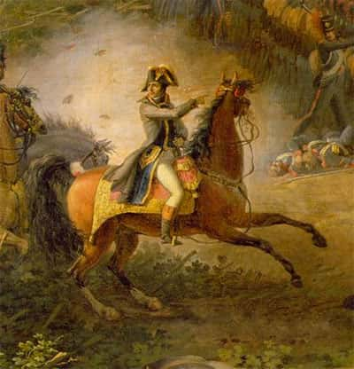 Napoleão Bonaparte no cavalo