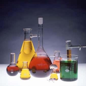 Tubos de ensaio, quimica