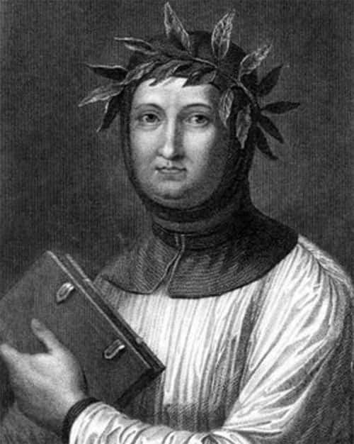 Foto/Pintura do Francesco Petrarca