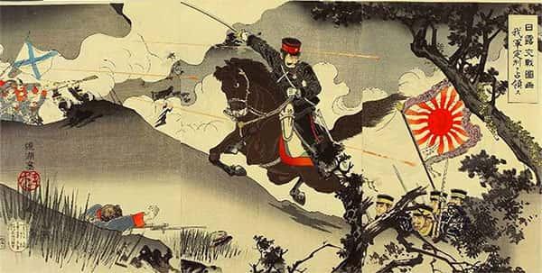 Ilustração da Guerra Russo-Japonesa