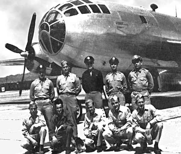 Tripulação que lançou a Bomba nuclear em Nagasaki