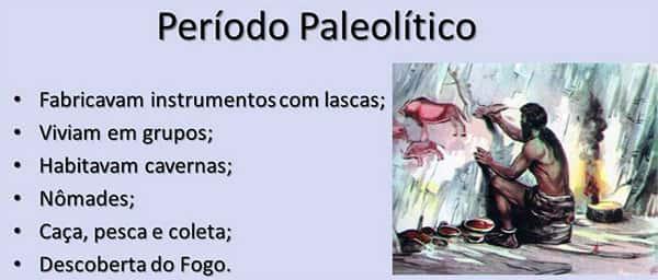 Breve resumo do Período Paleolítico