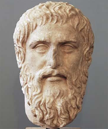 Escultura do Platão
