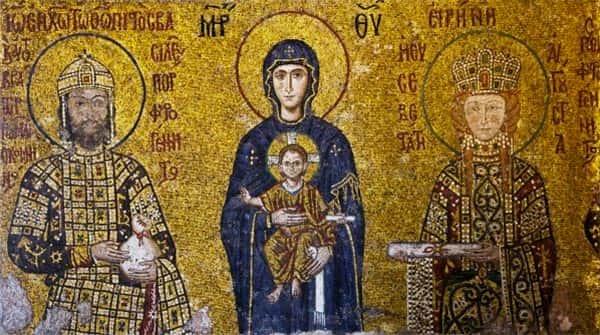 Arte Bizantina Mozaico