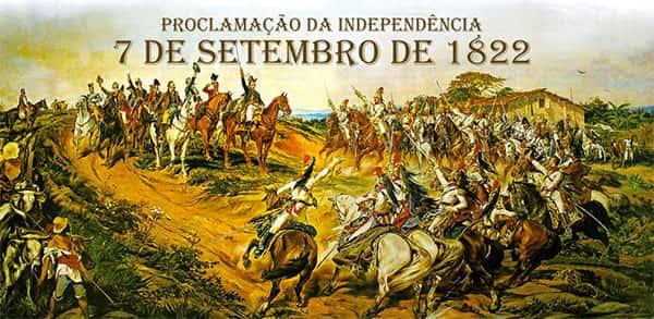 Independência do Brasil, 7 de setembro de 1822