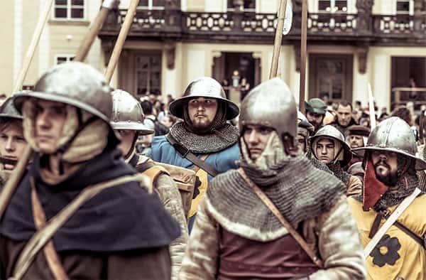 Era Medieval Camponeses, Soldados do Rei