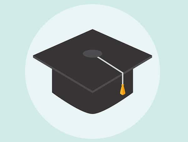 Chapéu de graduação da Universidade