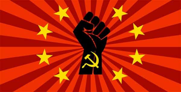 Comunismo simbolo mão