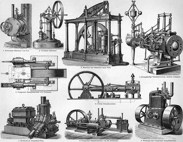 Maquinas a vapor