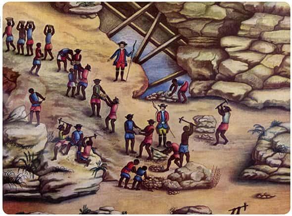 A história da mineração no Brasil