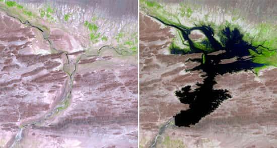Rio Dasht, no Paquistão