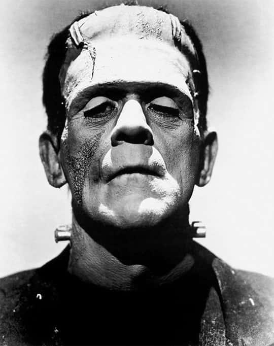 Frankenstein, Ator Boris Karloff 1931