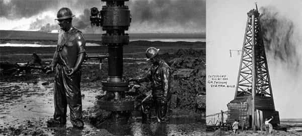 Explorando petróleo