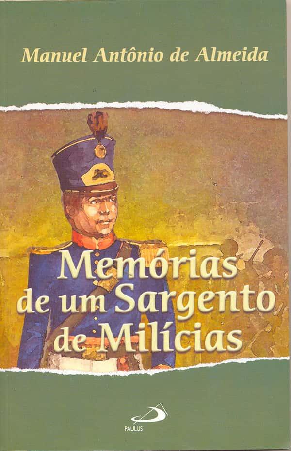 Capa Livro Memórias de um Sargento de Milícias
