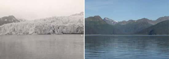 Glaciar McCarty, no Alasca