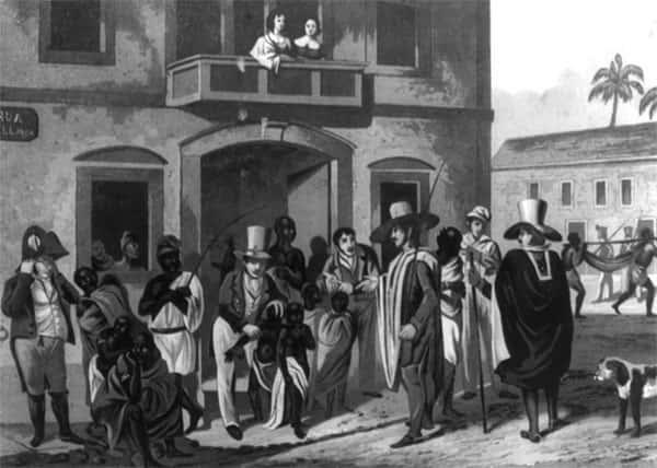 Mercado de Escravos, Rio de Janeiro, 1821