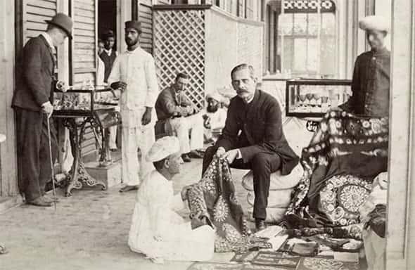 Indianos e Ingleses, Índia Britânica