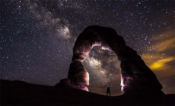 Estrelas céu noturno
